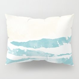 Sea waves Pillow Sham