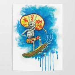 Taco Surfer Poster