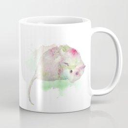 Watercolor Opossum Coffee Mug