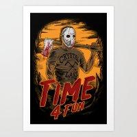 Time for fun Art Print