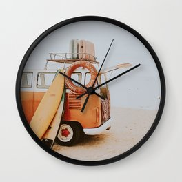 lets surf viii Wall Clock