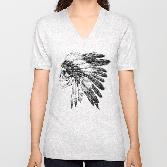 Native American Unisex V-Neck
