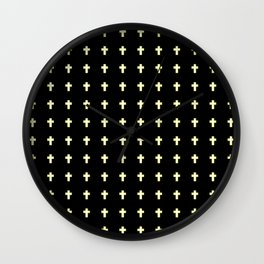 Christian Cross 43 Wall Clock