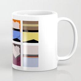 Enterprise 1701 D - Minimalist Star Trek TNG The Next Generation - startrek - Trektangles  Coffee Mug