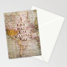 I've got the travel bug Stationery Cards