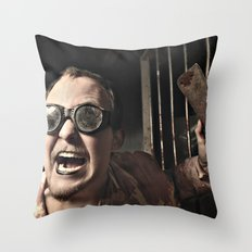 Dr. Cleaver Throw Pillow