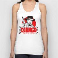 django Tank Tops featuring Django logo by Buby87