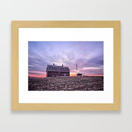 Ventura Barn Framed Art Print