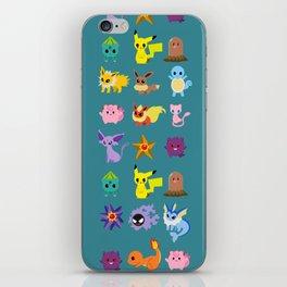 P O K E M O N iPhone Skin