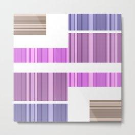 An abstract geometric pattern . Alex 8. Metal Print