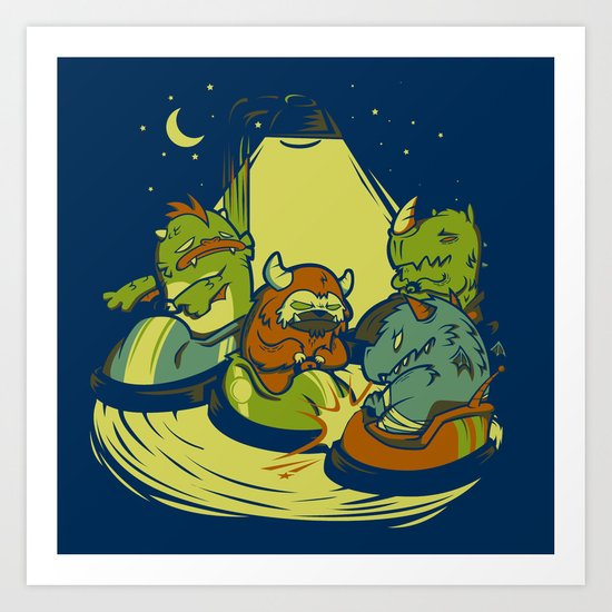 Things that go Bump in the Night Art Print