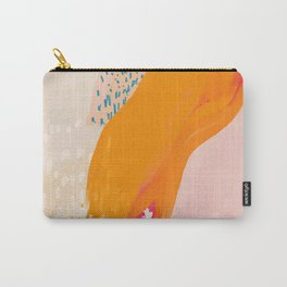 The Abstract Shape Of Spring Carry-All Pouch
