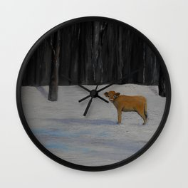 Kylee's Kenyon Calf Wall Clock