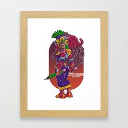 Coyolxauqui, Azteca Moderno 2019 Framed Art Print