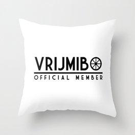 Vrijmibo Throw Pillow