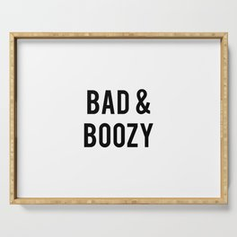 Bad and boozy Serving Tray