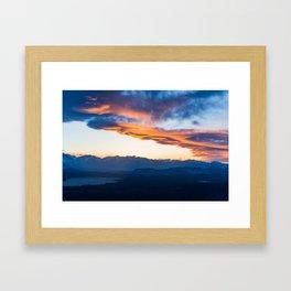 Sierra Wave over June Lake Loop Framed Art Print
