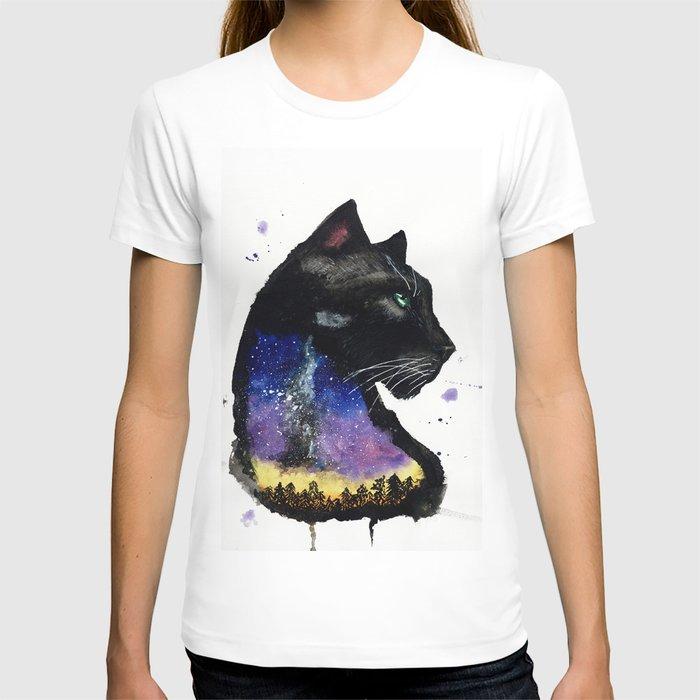 Galaxy Panther T-shirt