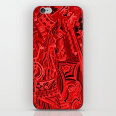 Red Hot Music iPhone & iPod Skin