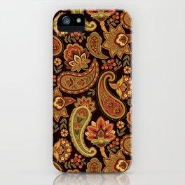 Autumn Paisley iPhone Case