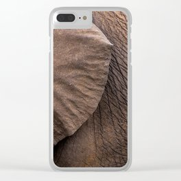 El'Texture Clear iPhone Case
