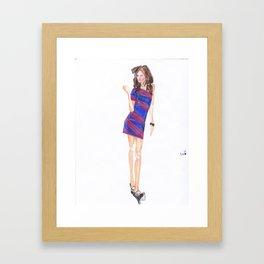 Attitude! Framed Art Print