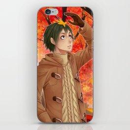 HAIKYUU!! - YAMAGUCHI TADASHI ~ FALL iPhone Skin