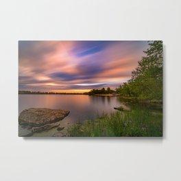 Eagle Lake Sunset - image 2 Metal Print