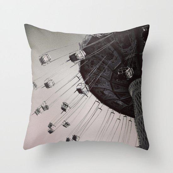 Coming Back Around Throw Pillow