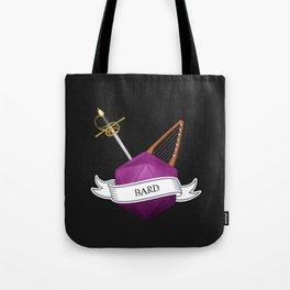D20 Bard class Tote Bag
