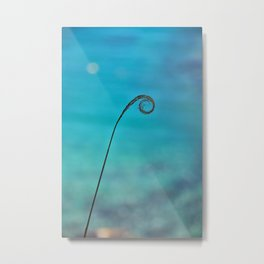 Curl of the Sea Metal Print