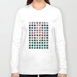 Square Repeat Long Sleeve T-shirt