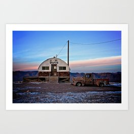 Tecopa at Twilight Art Print