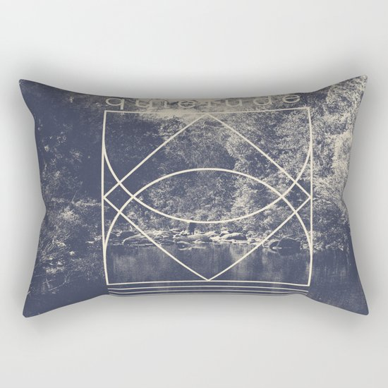 Quietude Rectangular Pillow
