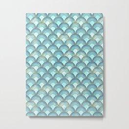 The Peacock Theme Metal Print