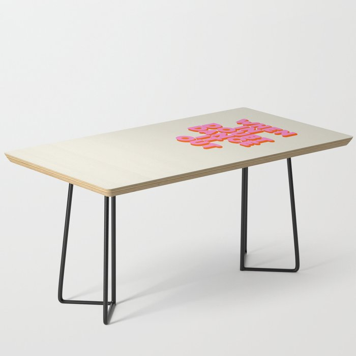 Dance it out Coffee Table