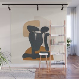 Feminine Abstract Figurine 1 Wall Mural