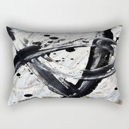 The Artist At Work Rectangular Pillow