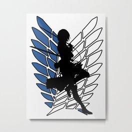Mikasa Metal Print