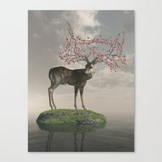 The Guardian of Spring Canvas Print