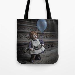 Blue baloon Tote Bag