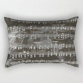 Brahms Sheet Music - Ballade Rectangular Pillow