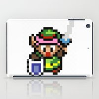 legend of zelda iPad Cases featuring Legend of Zelda - Link by Nerd Stuff