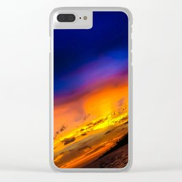 Whitsunday Sunsets Clear iPhone Case