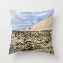 Birling Gap Throw Pillow
