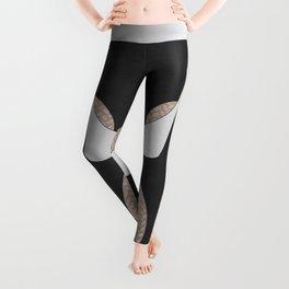 Black leggings with lace Leggings