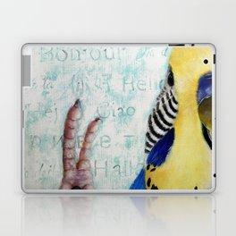 Parakeet Hello Laptop & iPad Skin