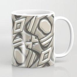 Grey ornaments Coffee Mug