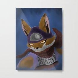 Alopex Metal Print