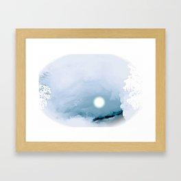 Blue Heaven Framed Art Print